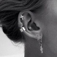 Multiple piercings