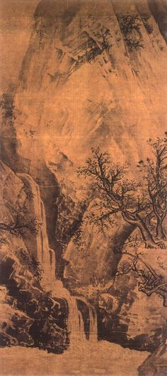 Li Tang(李唐) , 李唐 秋景山水1 日本京都高桐院藏