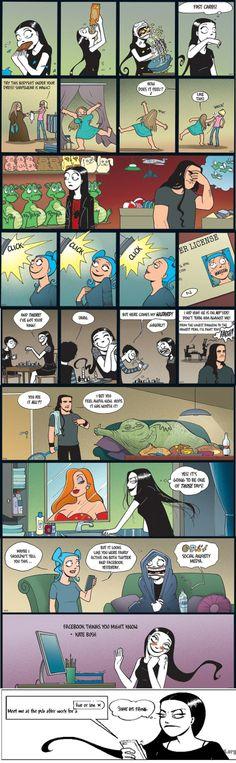 Norwegian Comic Called Nemi
