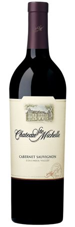 #Wine Wednesday! Perfect timing. Another great example from my lovely Washington State, a phenomenal quality per dollar. From the award-winning Chateau Ste. Michelle, their lower cost Cab. Yes, a $10 Cab with the concentrated red fruit of Columbia Valley, that can rival many at 2-3 times the price. Silky tannins, rich and lush, suggesting sophistication, and more than enough complexity to work with a variety of food (beef, pasta, pork, lamb). Also Wine Enthusiast's Editor Choice! I <3 it!