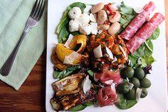 Antipasto=Summertime Italian Cold Supper