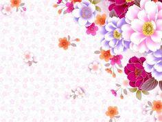 Professional Flower Pattern Background Wallpaper