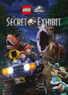 Shop LEGO Jurassic World: The Secret Exhibit [DVD] at Best Buy. Find low everyday prices and buy online for delivery or in-store pick-up. Lego Jurassic World, Lego Film, Lego Movie 2, Legos, Cartoon Network, Shop Lego, Pokemon, Version Francaise, Falling Kingdoms