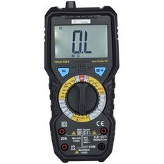 BSIDE ADM08D 6000 Counts True RMS Digital Large LCD Multimeter with 1000V AC/DC Voltage Triode Duty Datio Test Temperature Measurement