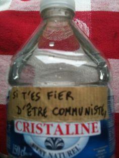 Si t'es fier d'être communiste...
