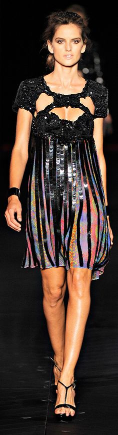 ✜ Just Cavalli SS 2012 ✜ MORE of this collection on Fashion Chic Style Trends & Fashion :: Black
