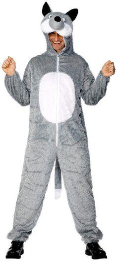 Naamiaisasu; Susi. Suden naamiaisasuun pukeutuessa pääsee jahtaamaan lampaita ja ulvomaan vimmatusti. Toki naamiaisasuinen susi voi käyttäytyä myös maltillisesti. Haalarimallinen asu takaa liikkumavapauden, jos vaanimisen lisäksi täytyy tehdä näyttäviä hyökkäyksiä.  Naamiaisasu on standarsikokoinen.