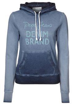 Sweat à capuche Pepe Jeans BROOKELEN Bleu prix promo Zalando 65,00 € TTC