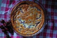 Julia Child's Cherry Clafouti. Beautiful and easy... and French.