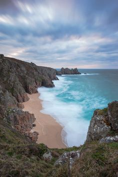 Ped-n-Vounder beach, Porthcurno, Cornwall, England by Joe Rainbow