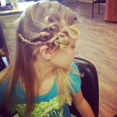 Love this bow braid
