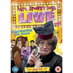 Mrs Brown's Boys Live Tour - Good Mourning Mrs Brown DVD: Amazon.co.uk: Brendan O'Carroll, Jennifer Gibney, Paddy Houlihan, Fiona O'Carroll, Eilish O'Carroll, Danny O'Carroll: Film & TV