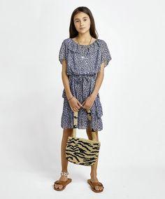 Robe Kaya Bleu Les Coyotes de Paris - 😍Découvrir ici - #Robe #RobeFille #Smallable #LesCoyotesdeParis #Dressgirl #Modeenfants #Modefille #tendance #RobeLesCoyotesdeParis Coyotes, Spring Dresses, Ruffle Dress, New Dress, Short Sleeve Dresses, Dresses With Sleeves, Shirt Dress, Pullover, Sweatshirts
