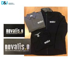 Novalis.O Exclusieve Design Interieurs. Kleding met borduring. #Interieurs #NovalisO #borduring #promotie #logo