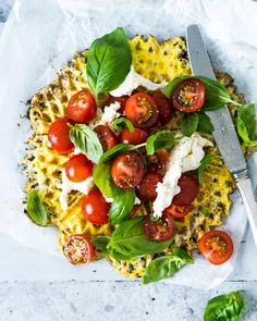 Veggie Recipes, Snack Recipes, Healthy Recipes, Snacks, Food Crush, Always Hungry, Pancakes And Waffles, Dinner Is Served, Vegetable Pizza
