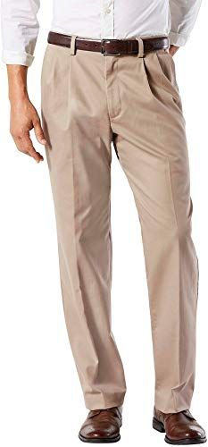 New Dockers Men S Easy Khaki D3 Classic Fit Pleated Pants