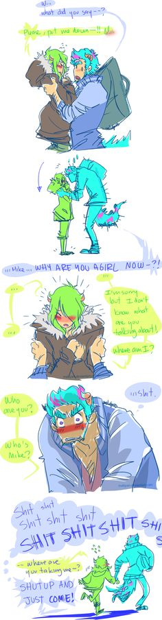 MU in which sulley did something wrong DD: by makiyan on DeviantArt