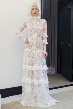 Christos Costarellos Spring 2018 Bridal Fashion Show - The Impression