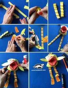 Geometric Origami Birds – Modern Wall Pattern Vinyl Decal / Sticker Set For Home, Kids Room, Nursery, Bedroom. Hobbies For Kids, Hobbies And Crafts, Diy For Kids, Easy Arts And Crafts, Crafts To Do, Crafts For Kids, Toddler Crafts, Preschool Crafts, Geometric Origami