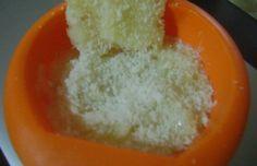 Creme de coco com abacaxi fácil