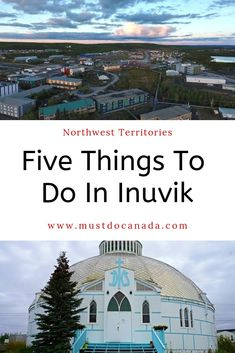 Jan 2020 - Looking for unique places to visit in Canada? Go up to the Northwest Territories and visit Inuvik! Here are five things to do above the arctic circle in Inuvik! Adventure Activities, Adventure Tours, Adventure Travel, Canada North, Canada Eh, Stuff To Do, Things To Do, Northern Canada, Canada Destinations