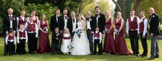 Wedding Entourage, Bridal, Dresses, Fashion, Group Shots, Weddings, Vestidos, Moda, Fashion Styles