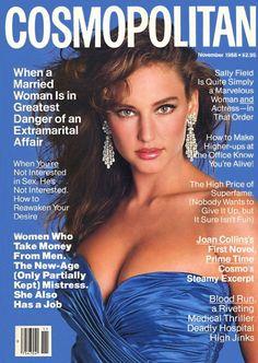 Cosmopolitan magazine, NOVEMBER 1988 Model: Jill Goodacre Photographer: Francesco Scavullo