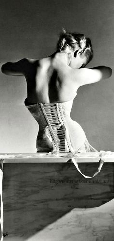Corsetry in Vogue <3