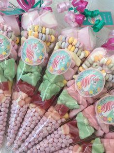 Unicorn sweet cones