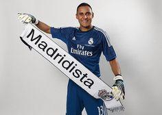 Equipacion NAVAS Real Madrid portero 2014-2015