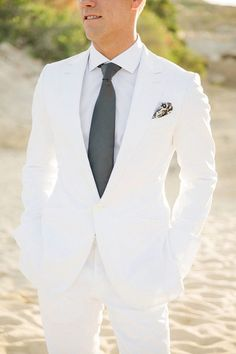 11 Modern Groom Looks That Ditched the Traditional Tuxedo | Brit + Co