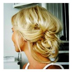 Hair ❤ liked on Polyvore featuring beauty products, haircare, hair styling tools, hair, hairstyles, hair styles, buns and cabelos