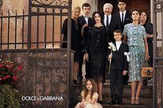 Dolce e Gabbana - Italian family (Starring Monica Bellucci and Bianca Balti)