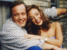 Doug and Carrie (Kevin James and Leah Remini), King of Queens