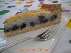 Caricias para el paladar: Kuchen de arándanos