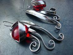 http://www.sissibrindacier.com/IMG/jpg/-74.jpg Bijou/Boucles d'oreilles fourchettes Fork Jewelry Fork earrings