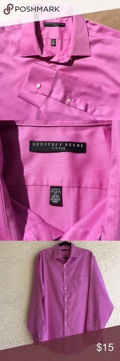 Geoffrey Beene Dress Shirt Excellent Condition. Wrinkle Free. Size 17. 34/35. Geoffrey Beene Shirts Dress Shirts