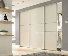 floor to ceiling mirrored wardrobes - these would be the doors for my built-in wardrobe