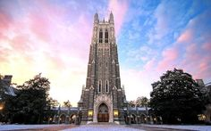 The 50 rhyming, chiming bells of Duke Chapel's grand carillon have rung out over the university for more than 80 years. Duke University Campus, Drake University, College Campus, Duke College, Lsu College, Western College, Texas Western, Nc Wedding Venue, Going Back To College