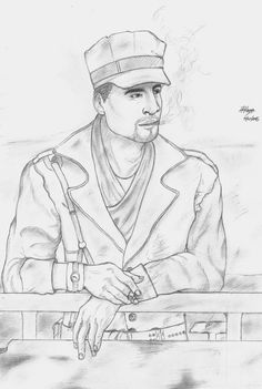 My Drawing of Robert Jospeh MacCready :D