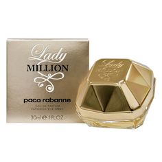 Got a sample of Lady Million by Paco Rabanne with my recent perfume purchase and really like it - in fact have worn it more than my recent perfume purchase so far! Oops.