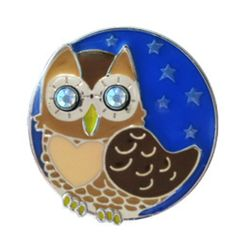 Finders Key Purse Key Chain - Night Owl