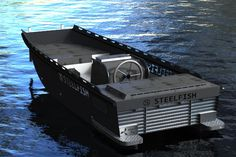 Steelfish aluminium boats with style! You can now go out on the water knowing your boat is not only tough and durable, but you can do it with style. steelfishsloepen.nl/