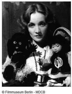 The Lenci Doll Collector: Marlene Dietrich's Lenci dolls, her good luck mascots.