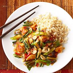Kung Pao Chicken - with sugar sub, 7 pts+/serving