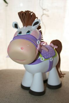 fun foam horse...chubby like a Cabbage Patch type of doll...really...really adorable! (photos)