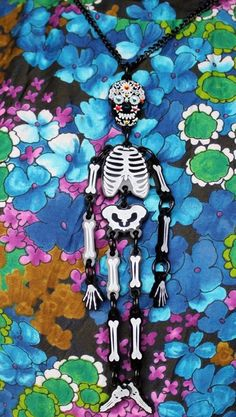 Death has never looked so glamorous! Our Large Skeleton Necklace is now just £25.50 in our Summer Sale: https://www.tattydevine.com/shop/featured/sale/skeleton-large-necklace.html