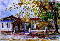 a mais recente postagem sobre as artes plásticas brasileiras e seus autores... >>> betomelodia - música e arte brasileira: Paulo Sergio Gomes e Suas Belas Aquarelas