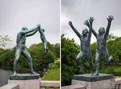 Parque Vigeland, Oslo [Fotogaleria] | Viagens à Solta