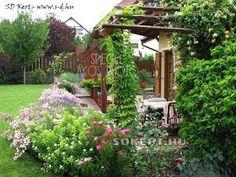 * Csináld magad kertépítés *: Kertépítés ötletek, megoldások Arch, Outdoor Structures, Garden, Longbow, Garten, Lawn And Garden, Gardens, Wedding Arches, Gardening